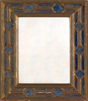 Italian Giltwood Mirror, Early 20th C., 24 3/4'' X