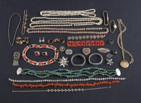 Miscellaneous Costume Jewelry, 20th C.