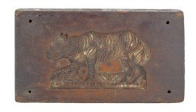 Continental Carved Springerle Board, 19th C., Wit