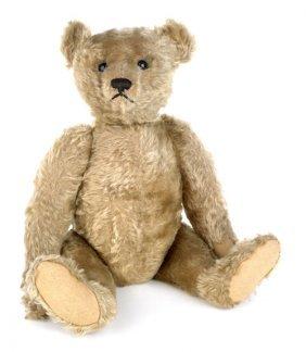 Steiff Jointed Mohair Teddy Bear, Early 20th C.