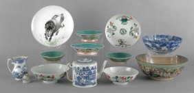 Group Of Chinese Porcelain, To Include A Large Cr