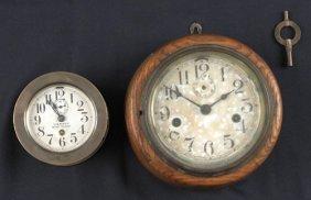 Seth Thomas U.S. Navy Boat Clock, 20th C., Togeth
