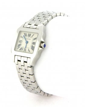 Cartier Santos Demoiselle Ladies Steel Watch