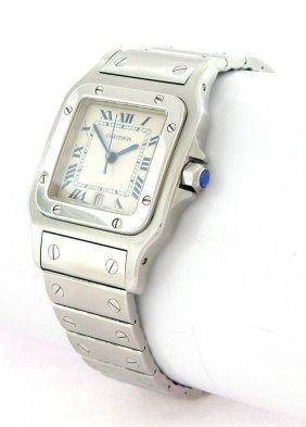 Cartier Santos Galbee Men's Stainless Steel Watch