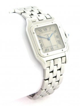 Cartier Panthere Midsize Unisex Steel Watch