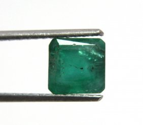 1.07ct Natural Colombian Green Emerald Top Color