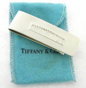 Tiffany & Co. Sterling Silver Coliseum Money Clip