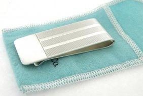 Tiffany & Co. Sterling Silver Wide Money Clip