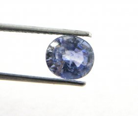 Natural Loose 1.07ct Oval Cut Cornflower Blue Sapphire
