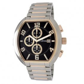 Le Chateau Steel And Rose-gold Le Chateau Watch