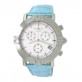 Swiss Diamond Watch With Strap Bianci Swiss Chronograph