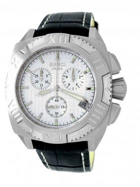 Military Type Bianci Watch With Chronograph