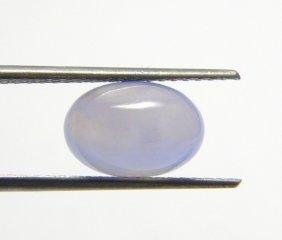 2.15ct Natural Cabochon Blue Aquamarine Oval Cut