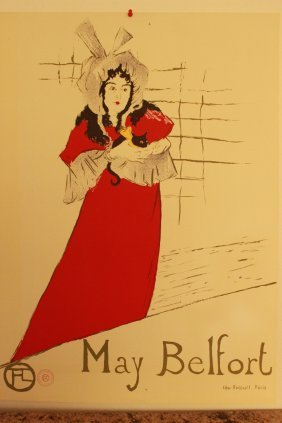 May Belfort By Henri Toulouse-lautrec