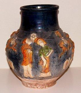 Tang Dynasty Terracotta Jar