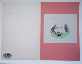 Shakespeare By Picasso Limited Edition Lithograph