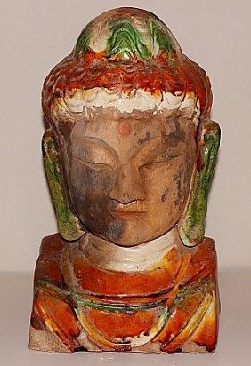 Buddha Tri Color Ceramic