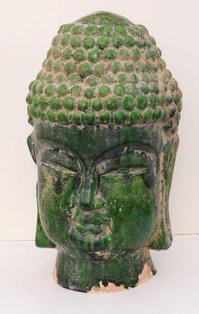 Ming Buddha Head