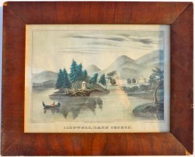 Caldwell, Lake George, C. 1850 (framed)