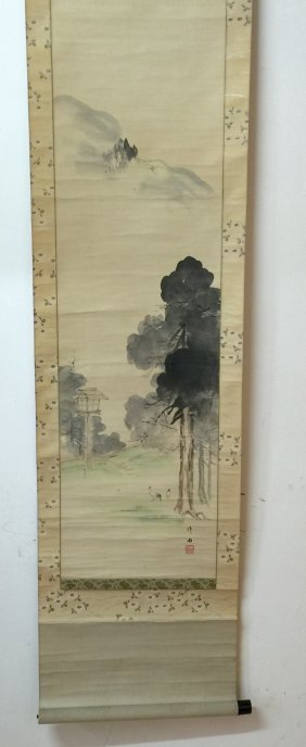 Old Oriental Painting.