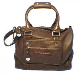 Marc Jacobs Brown Leather Utilitarian Shoulder Bag
