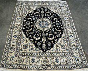 Exquisite Expensive And Stunning 8.4 X 6.5 Persian Nain