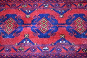 Tribal Rug With Outstanding Eastern Mountains' Piquancy