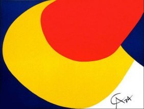Calder Convection Lithograph