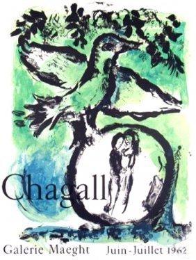 Marc Chagall Oiseau Vert 1962