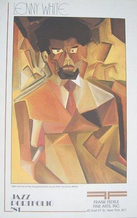 Lenny White From Jazz Portfolio 81 Vintage