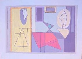 D'apres Picasso The Studio (c) 1957 - Catalda Fine Arts