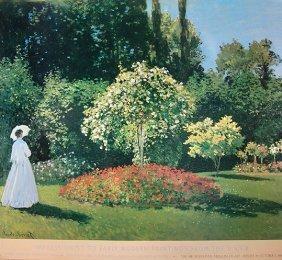 Claude Monet Garden The Hermit Leningrad Pushkin Moscow