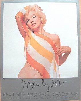 """Marilyn Monroe Vintage""""the Last Sitting""""by Bert Stern"""