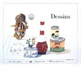 Steinberg, Saul Dessins (drawings) Litho - Offset 1981