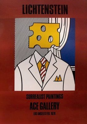 "Lichtenstein, Roy ""chesse Head""1978 - Liquidation Set"