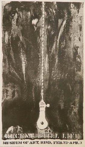 Jasper Johns - ''recent Still Life'' Poster 1966
