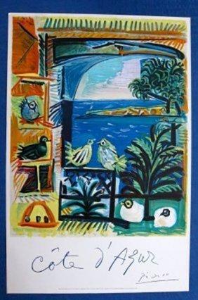 "Picasso ""cote D'azur""theoriginal. Liquidation Set Of"