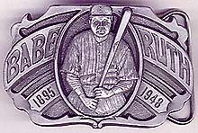 Babe Ruth Metal Bucle