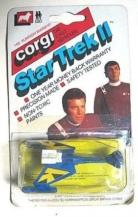 Corgi Jr Star Trek Ii
