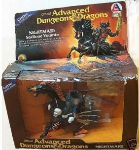 "Official Advance Dungeons & Dragons ""nightmare Stallone"