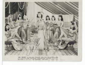 Ann Miller - - In Hay Rookie 8 X 10 Photo W/