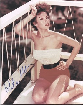 Rita Moreno - 8x10 Photo W/ Certificate