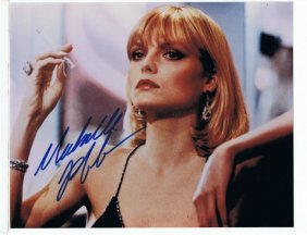 Michelle Pfeiffer - 8 X 10 Photo W/ Certificate