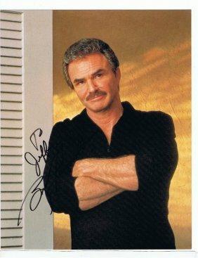 Burt Reynolds - 8 X 10 Photo W/ Certificate