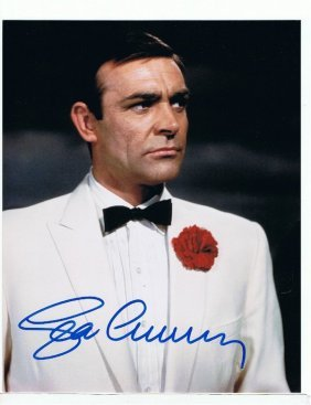 Sean Connery - 8 X 10 Photo W/ Certificate #5