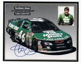 Jeff Green - 8 X 10 Sponsor Photo W/ Autograph