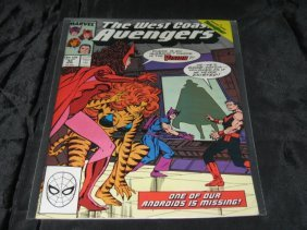 The West Coast Avengers #42