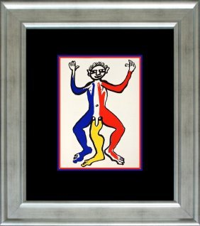Alexander Calder Lithograph Printed 35 Years Ago