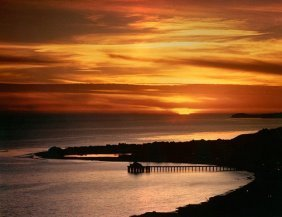 Nick Rodionoff-sunset Over Looking Pier Photography On