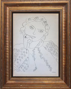 Henri Matisse Original Lithograph Verve Collection